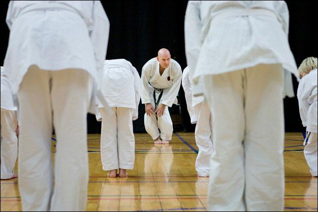 Karate_opvarmning